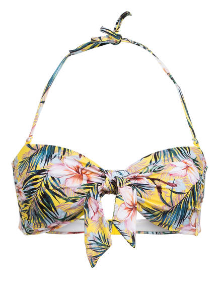 Hot Stuff Bandeau-Bikini-Top , Farbe: GELB/ ROSA/ BLAU (Bild 1)