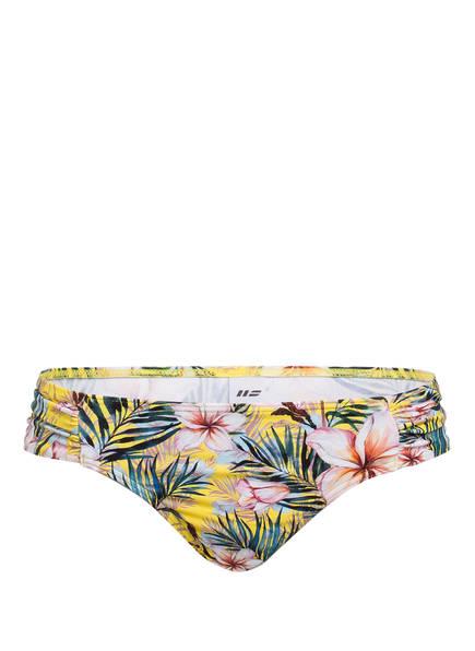 Hot Stuff Bikini-Hose SUNNY PALM , Farbe: GELB/ ROSA/ BLAU (Bild 1)