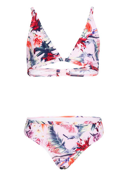 Hot Stuff Triangel-Bikini PARROT FLOWER , Farbe: ROSE/ BLAU/ ORANGE (Bild 1)