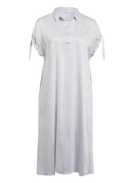 PESERICO Kleid , Farbe: WEISS/ BLAU/ BRAUN (Bild 1)