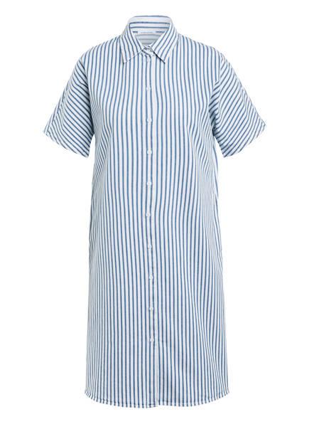 seidensticker Hemdblusenkleid , Farbe: BLAU/ WEISS GESTREIFT (Bild 1)