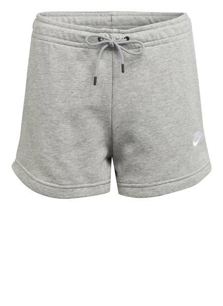Nike Sweatshorts SPORTSWEAR ESSENTIAL, Farbe: HELLGRAU MELIERT (Bild 1)