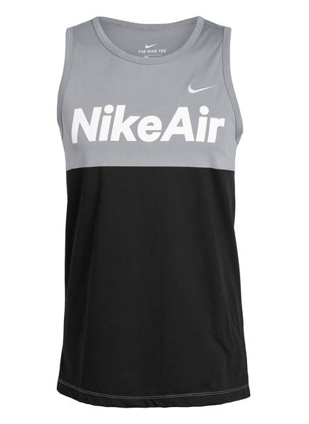 Nike Tanktop AIR , Farbe: GRAU/ SCHWARZ (Bild 1)