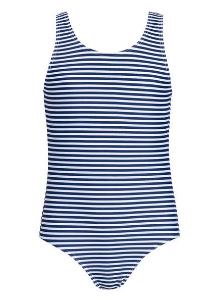 Hot Stuff Badeanzug MARITIM , Farbe: MARINE/ WEISS (Bild 1)
