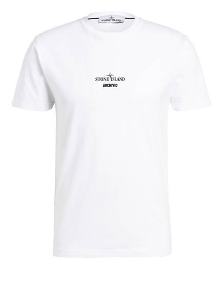 STONE ISLAND T-Shirt , Farbe: WEISS (Bild 1)