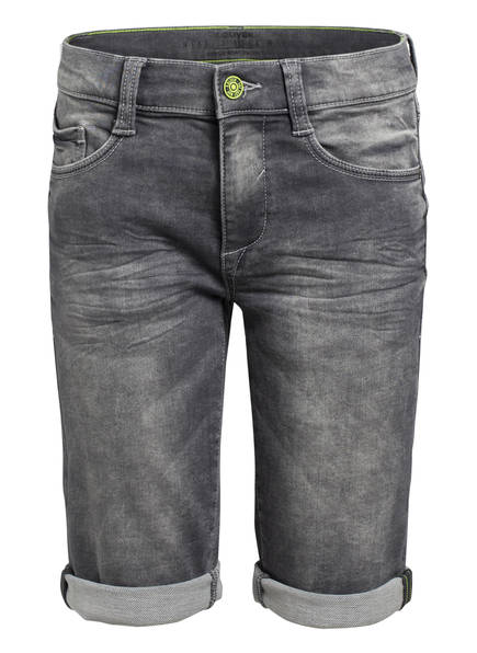 s.Oliver Jeans-Shorts Regular Fit, Farbe: 96Z7 GREY/ BLACK DENIM (Bild 1)