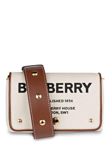 BURBERRY Umhängetasche HACKBERRY, Farbe: CREME/ BRAUN (Bild 1)