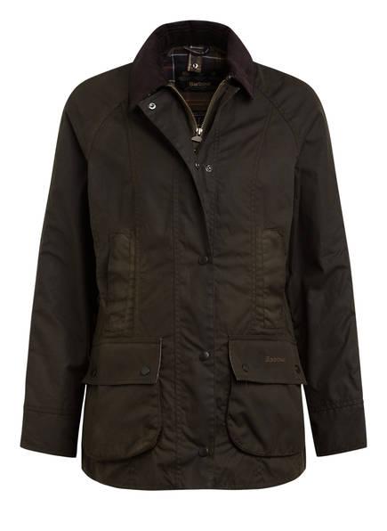 Barbour Fieldjacket CLASSIC BEADNELL, Farbe: DUNKELGRÜN (Bild 1)