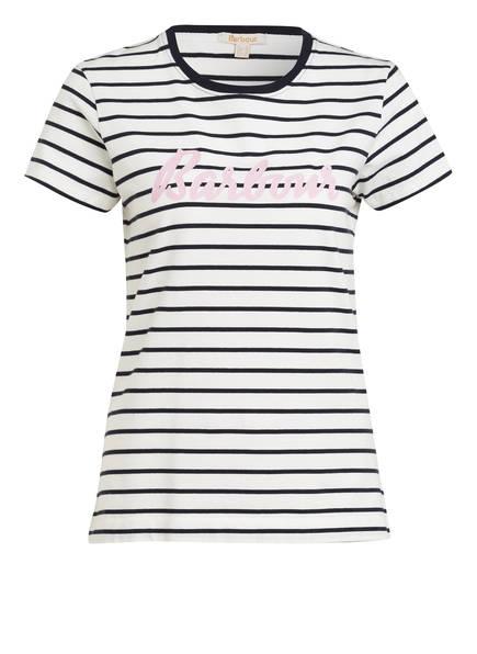 Barbour T-Shirt KEILDER, Farbe: WEISS/ DUNKELBLAU (Bild 1)