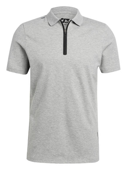ALPHATAURI Piqué-Poloshirt JANEX V1.Y4.01, Farbe: HELLGRAU MELIERT (Bild 1)