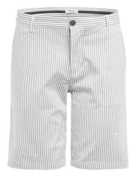PAUL Chino-Shorts PREPPY Slim Fit, Farbe: WEISS/ SCHWARZ (Bild 1)