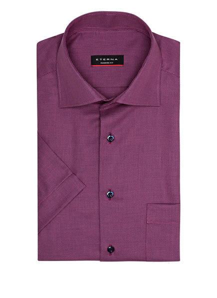 ETERNA Halbarm-Hemd Modern Fit, Farbe: DUNKELBLAU/ ROSA (Bild 1)
