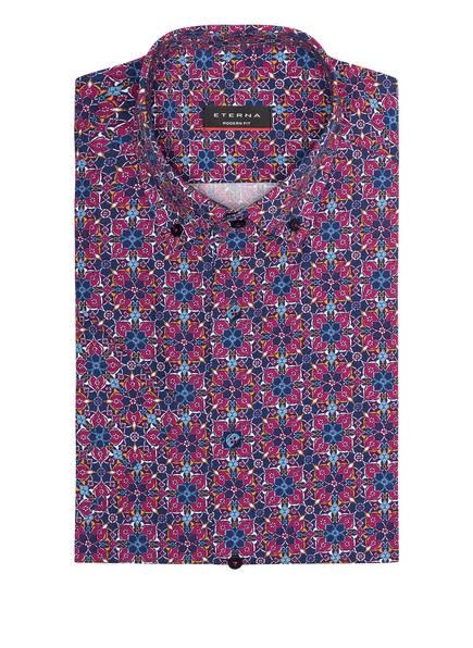 ETERNA Halbarm-Hemd Modern Fit, Farbe: DUNKELBLAU/ FUCHSIA/ WEISS (Bild 1)