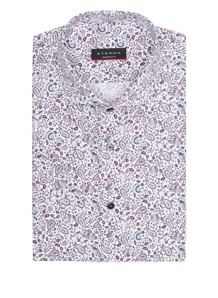 ETERNA Halbarm-Hemd Modern Fit, Farbe: WEISS/ BLAU/ / LILA (Bild 1)