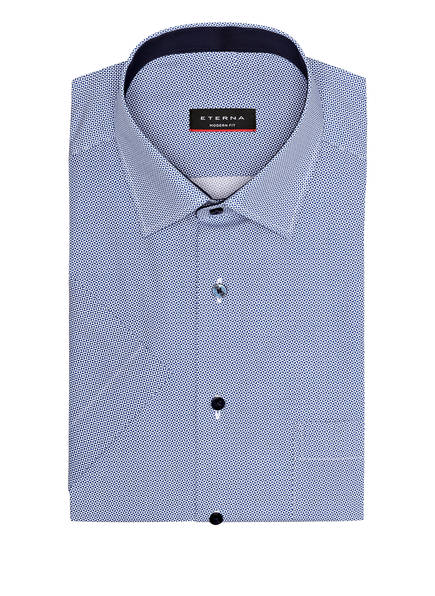 ETERNA Halbarm-Hemd Modern Fit, Farbe: WEISS/ BLAU (Bild 1)