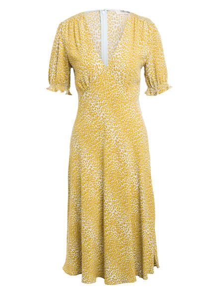DIANE VON FURSTENBERG Kleid IDRIS , Farbe: HELLBEIGE/ DUNKELGELB/ HELLMINT (Bild 1)