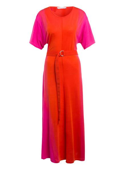 NINETY PERCENT Jerseykleid , Farbe: PINK/ DUNKELORANGE (Bild 1)