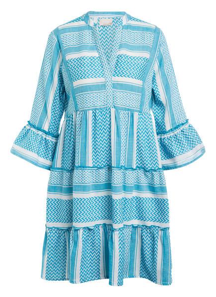 Mrs & HUGS Kleid, Farbe: BLAU/ WEISS (Bild 1)