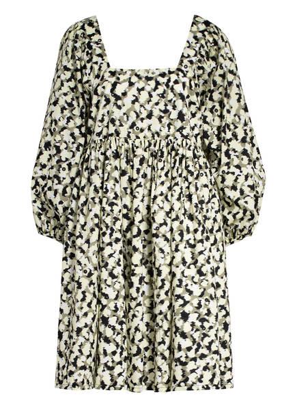 JUST FEMALE Kleid NELLIE, Farbe: OLIV/ HELLGELB/ SCHWARZ (Bild 1)