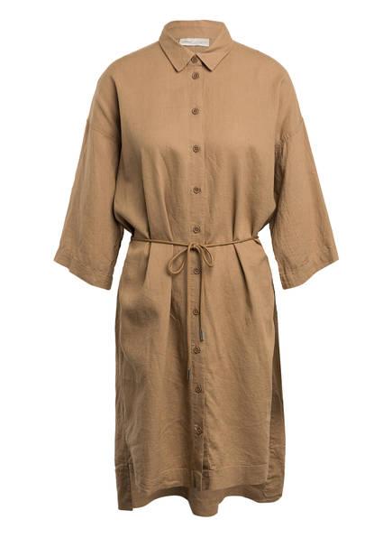 InWear Hemdblusenkleid BRIZAL mit Leinen , Farbe: BEIGE (Bild 1)