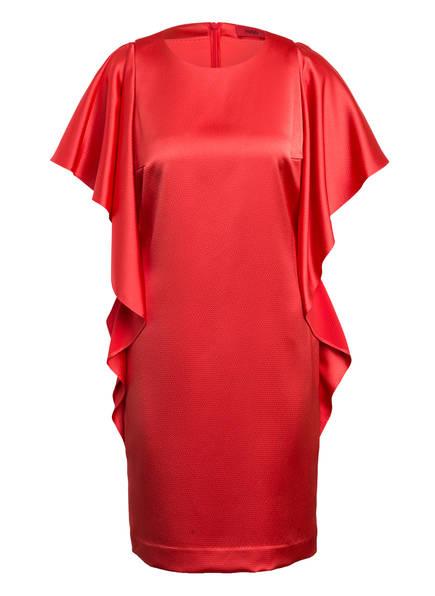 HUGO Kleid KOSALI mit Volantbesatz, Farbe: HELLROT (Bild 1)