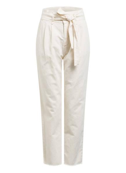 SET 7/8-Jeans mit Leinen, Farbe: ECRU (Bild 1)
