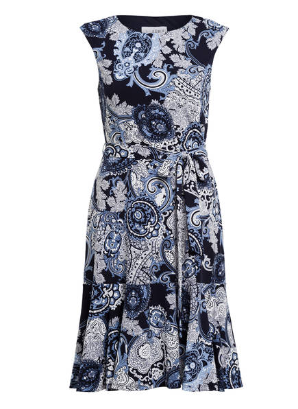 Joseph Ribkoff Kleid mit Volants, Farbe: DUNKELBLAU/ HELLBLAU (Bild 1)