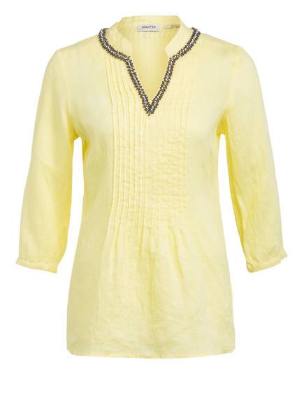 MALVIN Blusenshirt aus Leinen, Farbe: GELB (Bild 1)
