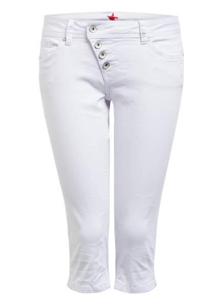 Buena Vista Jeans-Shorts MALIBU CAPRI , Farbe: 032 WHITE (Bild 1)
