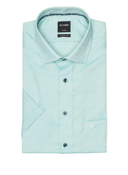 OLYMP Halbarm-Hemd Luxor modern fit , Farbe: MINT (Bild 1)