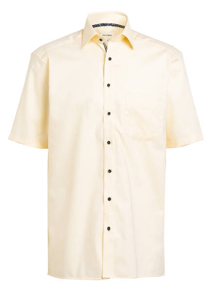 OLYMP Kurzarm-Hemd Luxor comfort fit , Farbe: GELB (Bild 1)