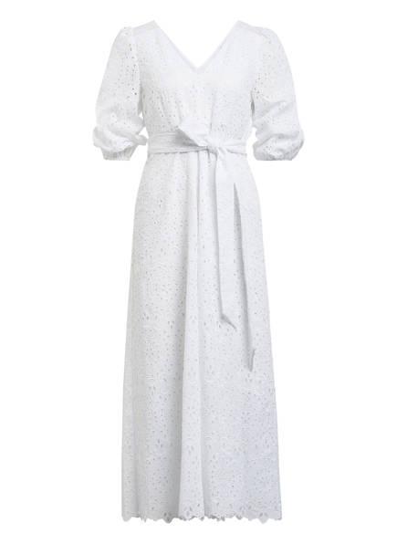 IVY & OAK Kleid mit 3/4-Arm aus Lochspitze, Farbe: WEISS (Bild 1)