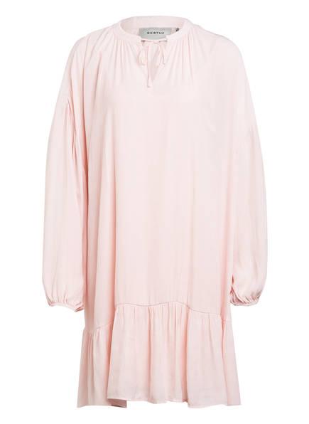 GESTUZ Kleid NATH mit Volants, Farbe: HELLROSA (Bild 1)