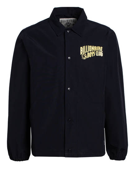 BILLIONAIRE BOYS CLUB Overshirt HEART & MIND, Farbe: DUNKELBLAU (Bild 1)