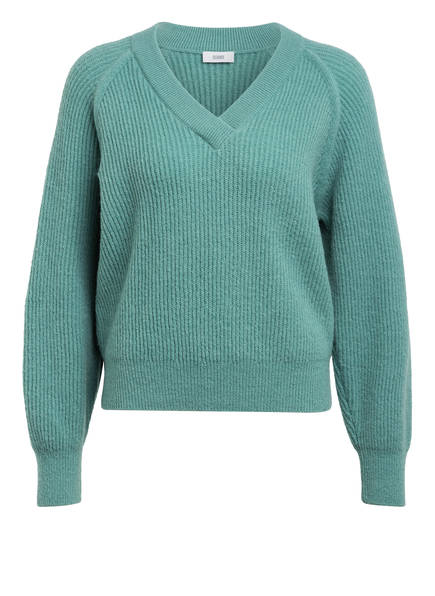 CLOSED Pullover mit Leinen, Farbe: MINT (Bild 1)