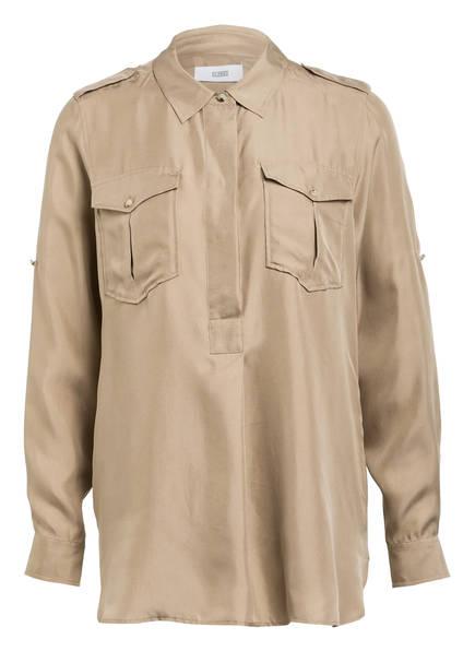 CLOSED Blusenshirt MINA aus Seide , Farbe: BEIGE (Bild 1)