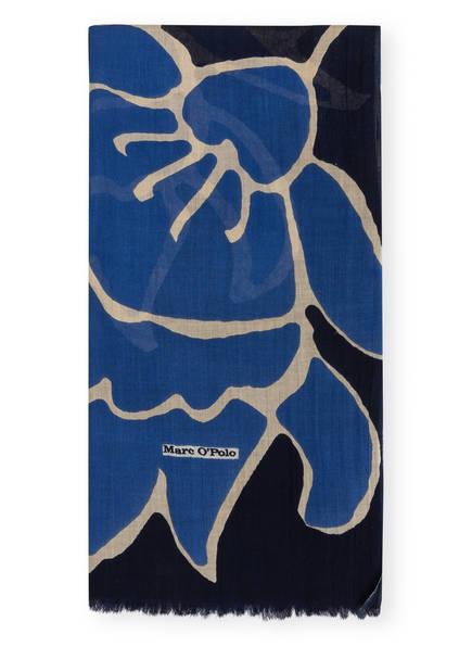 Marc O'Polo Schal, Farbe: DUNKELBLAU/ BLAU/ BEIGE (Bild 1)