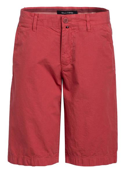 Marc O'Polo Chino-Shorts Regular Fit, Farbe: HELLROT (Bild 1)