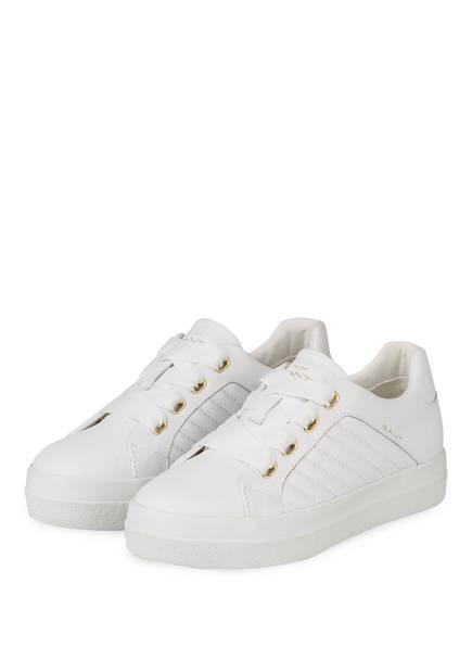 GANT Plateau-Sneaker AVONA, Farbe: WEISS (Bild 1)