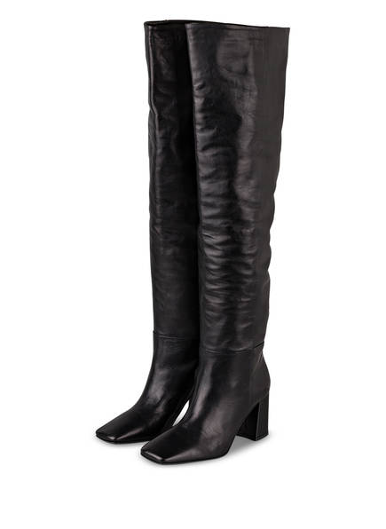 MARC CAIN Overknee-Stiefel, Farbe: 900 BLACK (Bild 1)