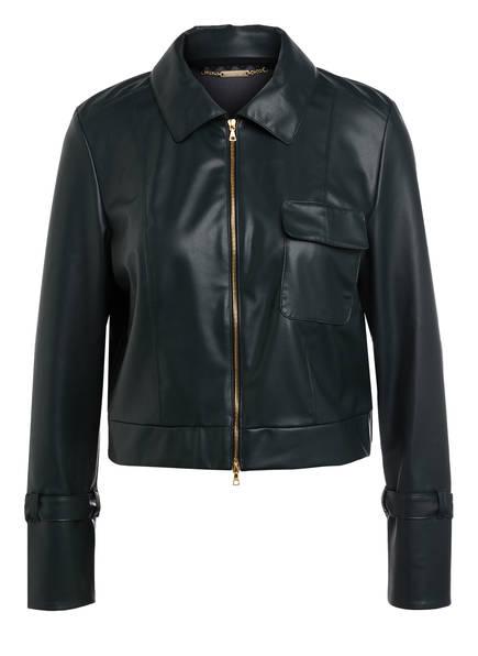MARCCAIN Jacke in Lederoptik, Farbe: 560 CONIFER (Bild 1)