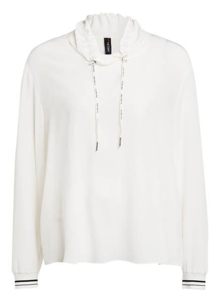 MARCCAIN Oversized-Blusenshirt aus Seide, Farbe: 110 OFF (Bild 1)