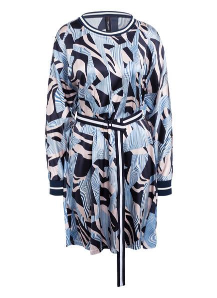 MARCCAIN Kleid mit Seide, Farbe: 393 SPACE BLUE (Bild 1)