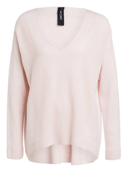 MARCCAIN Oversized-Pullover aus Cashmere, Farbe: 155 ALMOND BLOSSOM (Bild 1)