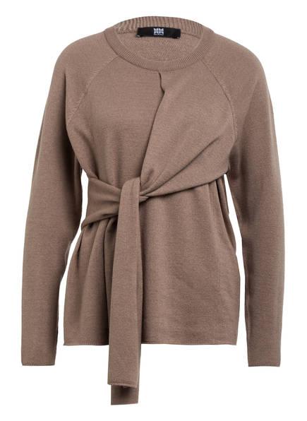 RIANI Pullover mit Seide, Farbe: HELLBRAUN (Bild 1)