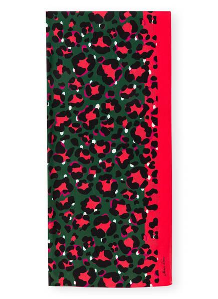 MARC CAIN Seidenschal, Farbe: GRÜN/ PINK/ SCHWARZ (Bild 1)