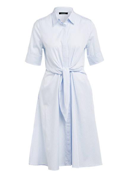 LAUREN RALPH LAUREN Hemdblusenkleid , Farbe: HELLBLAU/ WEISS GESTREIFT (Bild 1)