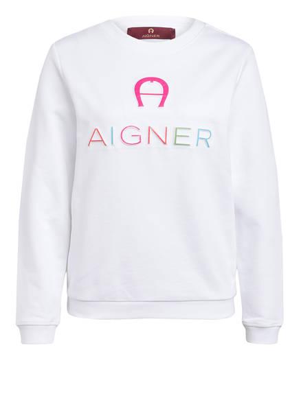 AIGNER Sweatshirt , Farbe: WEISS (Bild 1)