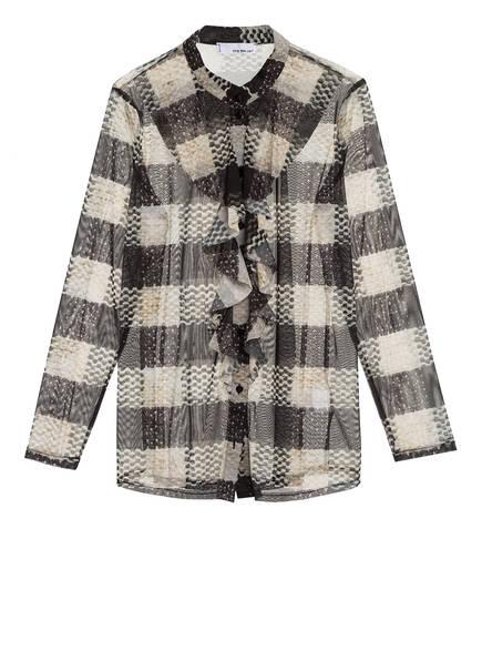 SEM PER LEI Bluse, Farbe: SCHWARZ/ HELLBEIGE (Bild 1)