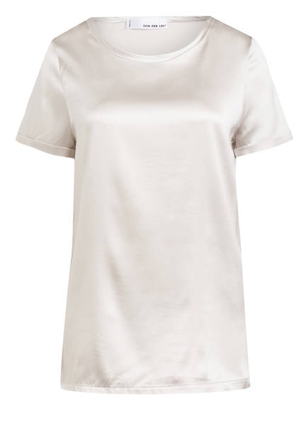 SEM PER LEI Blusenshirt aus Seide, Farbe: CREME (Bild 1)